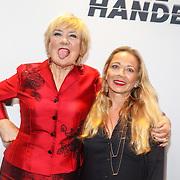 NLD/Amsterdam/20150907 - Premiere Schone Handen, Trudy de Jong en .................