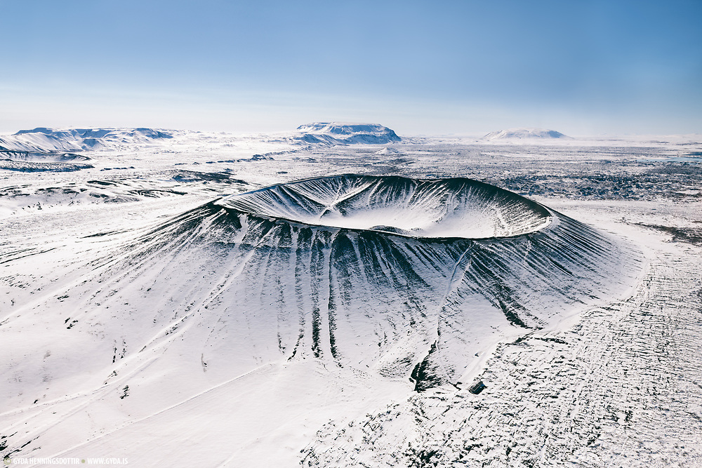 Hverfell in north east iceland