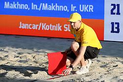 Referee at Ljubljana Beach Volley 2017, on July 22, 2017 in Ljubljana, Slovenia. Photo by Matic Klansek Velej / Sportida