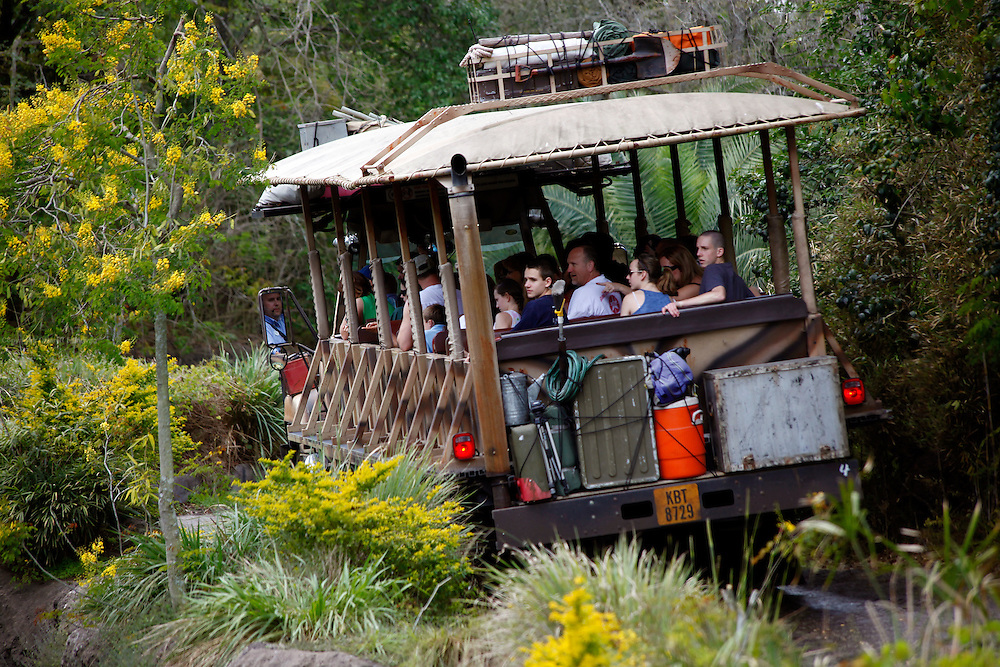 Orlando, Florida, USA, 20090324:   The Disney Animal World in Orlando.<br />
