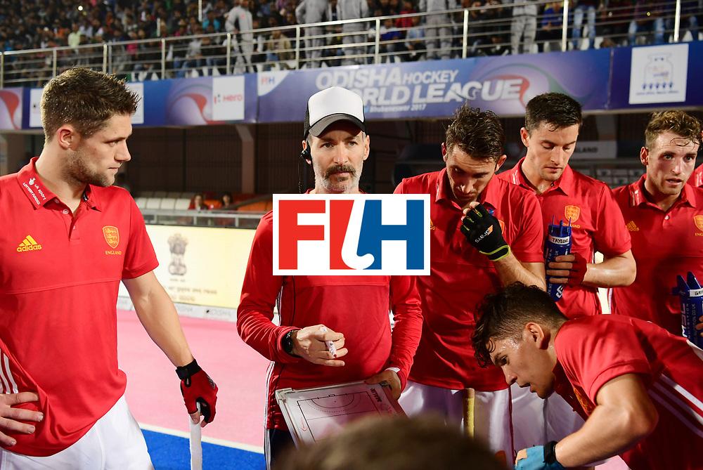 Odisha Men's Hockey World League Final Bhubaneswar 2017<br /> Match id:09<br /> Australia v England<br /> Foto: Ass Coach Garcia Russell  <br /> WORLDSPORTPICS COPYRIGHT FRANK UIJLENBROEK