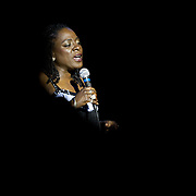 Singer Sharon Jones & The Dap-Kings perform at The Music Hall, Portsmouth, NH
