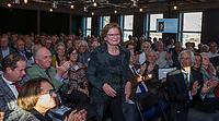 UTRECHT -  echtgenote van  aftredend president Willem Zelsmann,   Algemene Ledenvergadering van de Nederlandse Golf Federatie NGF.   COPYRIGHT KOEN SUYK