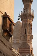 Egypt. Cairo : Mosque mausoleum of KAYRBAK - NM248 - in DARB AL HAMAR  street, islamic Cairo , renovation of KHAYER BEK complex by the AGA KHAN foundation +