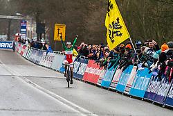 Eva Lechner (ITA) wins, Women, Cyclo-cross World Cup Hoogerheide, The Netherlands, 25 January 2015, Photo by Thomas van Bracht / PelotonPhotos.com