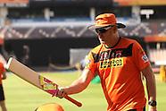 Vivo IPL 2016 - SRH Practice in Hyderabad 25.4