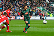 Antoni Sarcevic (7) of Plymouth Argyle during the EFL Sky Bet League 2 match between Plymouth Argyle and Accrington Stanley at Home Park, Plymouth, England on 1 April 2017. Photo by Graham Hunt.