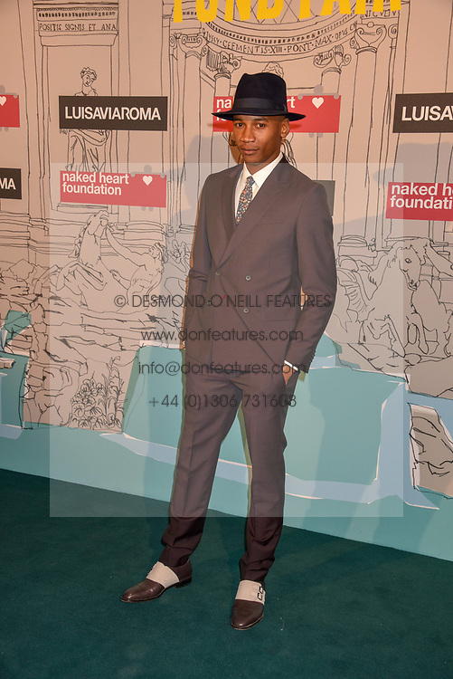Eric Underwood at the Fabulous Fund Fair in aid of Natalia Vodianova's Naked Heart Foundation in association with Luisaviaroma held at The Round House, Camden, London England. 18 February 2019.