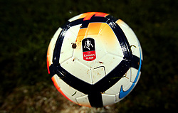 The FA Cup Football for the 2017-18 season - Mandatory by-line: Robbie Stephenson/JMP - 03/11/2017 - FOOTBALL - Meadow Lane - Nottingham, England - Notts County v Bristol Rovers - Emirates FA Cup first round