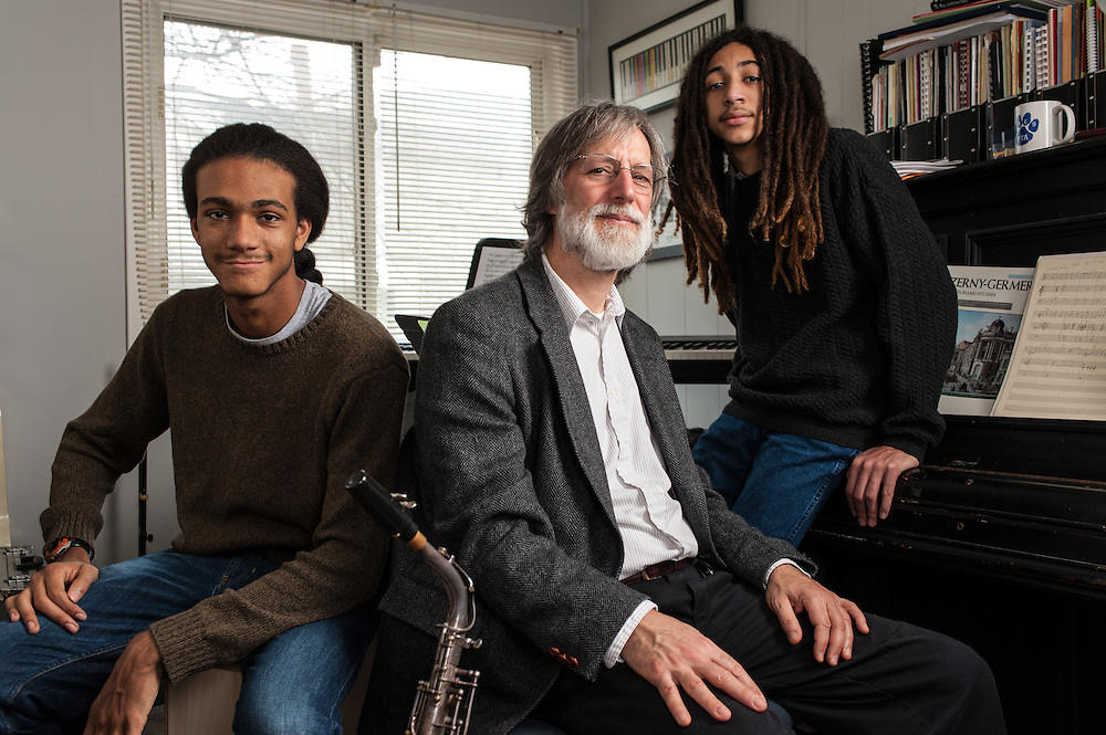 Tom Monroe, 58, and his sons, Elias Jack-Monroe, 17, and Theo Jack-Monroe, 14, talk about the complexity of being a biracial family.