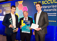 27/01/2014  The SCCUL Enterprise Award<br /> in the ICT Category winner was  Winner Cloud Dock<br /> <br /> The winner of the SCCUL Enterprise Award for ICT- is a very young company.<br /> It was founded in May 2013- and there are close links to NUI Galway as one of the co-founders was just finishing his final year of study here.  If I say it has its head in the clouds that might give you a clue as to what they do&hellip;.<br /> In June the two founders attended a tech start up weekend in Dublin which rapidly accelerated their business and secured them a key advisor. <br /> In September they were accepted into the National Digital Research Centre LaunchPad accelerator programme which has accelerated the start up and growth of the business. <br /> The company has now hired its first employees and preparation has begun for the next round of funding for the business.<br /> What do they do?<br /> This company will manage and sort your files regardless of how they are sent to you. Whether you get attachments through email or links to files or folders from a cloud storage system, they automatically organise them in to the folder they belong to in your cloud storage.<br /> The winner of the SCCUL Enterprise Award ICT is Cloud Dock- Cian Brassil from Kilcolgan, Co. Galway and Scott Kennedy.<br /> Their prize is<br /> &bull;specially commissioned piece of sculpture from locally based sculptor Liam Butler<br /> &bull;&euro;1000 cash<br /> &bull;Full page Business profile worth &euro;1250 in the Galway Independent SCCUL Enterprise Awards Souvenir Supplement which will be published<br /> <br /> Photo:Andrew Downes