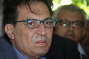 Il presidente della regione Sicilia Rosario Crocetta <br /> The President of Regione Sicilia Rosario Crocetta