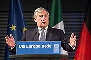 20171109 Antonio Tajani, Europa-Rede