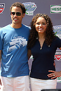 l to r: Quddus and Suzie Castillo at The 2008 Arthur Ashe Kids' Day held at The USTA Bille Jean King National Tennis Center on August 23, 2008 in Flushing, NY