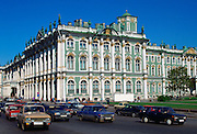 The State Hermitage Museum  in St Petersburg in Russia