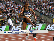 Beatrice Chepkoech (KEN) wins the women's steeplechase in 8:55.10 in the 43nd Memorial Van Damme in an IAAF Diamond League meet at King Baudouin Stadium in Brussels, Belgium on Friday,August 31, 2018. (Jiro Mochizuki/Image of Sport)