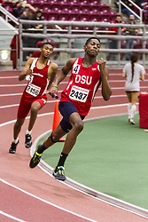 Boston University Multi-team indoor track & field, men 4x400 meter relay DSU