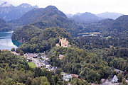 Germany, Hohenschwangau, southwest Bavaria, Neuschwanstein Castle