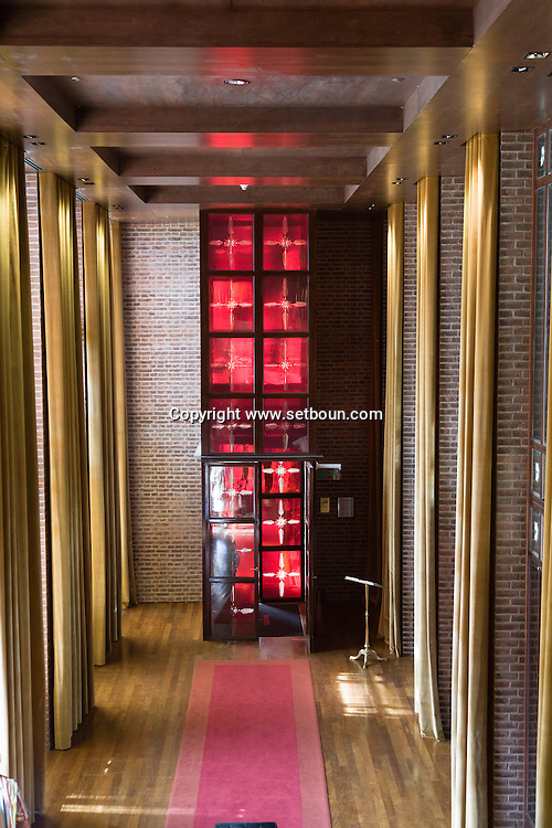 Argentina. Buenos Aires. FAENA Hotel + universe, http://www.faenahotelanduniverse.com/ - design by phillipe STARCK and Alan Faena, fashion designer, in the DOCKS,  new trendy area  Martha Salotti 445 (C1107CMB)     Buenos Aires -    / FAENA Hotel + universe, Faena art district,  http://www.faenahotelanduniverse.com/ design deco par Phillipe STARCK and Alan Faena dessinateur de mode, dans le nouveau quartier des docks Martha Salotti 445 (C1107CMB)   Buenos Aires - Argentine  R036