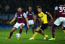 Robert Snodgrass of Aston Villa passes the ball - Mandatory by-line: Robbie Stephenson/JMP - 26/09/2017 - FOOTBALL - Pirelli Stadium - Burton upon Trent, England - Burton Albion v Aston Villa - Sky Bet Championship