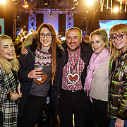 London, England, UK. 16th November 2017. Rod Dowling is a Park Manager and Alexandra Korsaks is a socialite attend the VIP launch of Hyde Park Winter Wonderland 2017 for a preview. tomorrow is opening for the public
