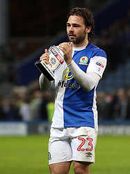 Bradley Dack of Blackburn Rovers with his Sky Bet Man of the Match award at full-time - Mandatory by-line: Joe Dent/JMP - 19/04/2018 - FOOTBALL - Ewood Park - Blackburn, England - Blackburn Rovers v Peterborough United - Sky Bet League One