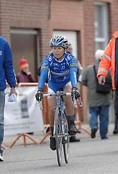 03-04-2006 WIELRENNEN: COURSE DOTTIGNIES: BELGIE<br /> Oenone Wood van Nurnberger Team wint Dottignies<br /> ©2006-WWW.FOTOHOOGENDOORN.NL