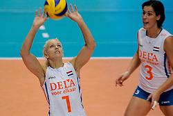 20-08-2009 VOLLEYBAL: WGP FINALS DUITSLAND - NEDERLAND: TOKYO<br /> Nederland wint ook de tweede wedstrijd. Ditmaal werd Duitelsnad met 3-2 verslagen / Kim Staelens<br /> ©2009-WWW.FOTOHOOGENDOORN.NL