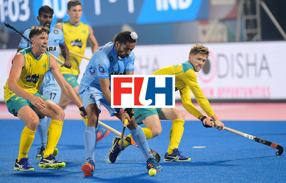 Odisha Men's Hockey World League Final Bhubaneswar 2017<br /> Match id:02<br /> Australia v India<br /> Foto: SINGH Akashdeep<br /> WORLDSPORTPICS COPYRIGHT FRANK UIJLENBROEK