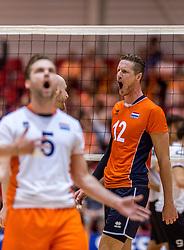 05-06-2016 NED: Nederland - Duitsland, Doetinchem<br /> Nederland speelt de laatste oefenwedstrijd ook in  Doetinchem en speelt gelijk 2-2 in een redelijk duel van beide kanten / Kay van Dijk #12
