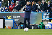 Huddersfield Manager Danny Cowley during the EFL Sky Bet Championship match between Huddersfield Town and Brentford at the John Smiths Stadium, Huddersfield, England on 18 January 2020.
