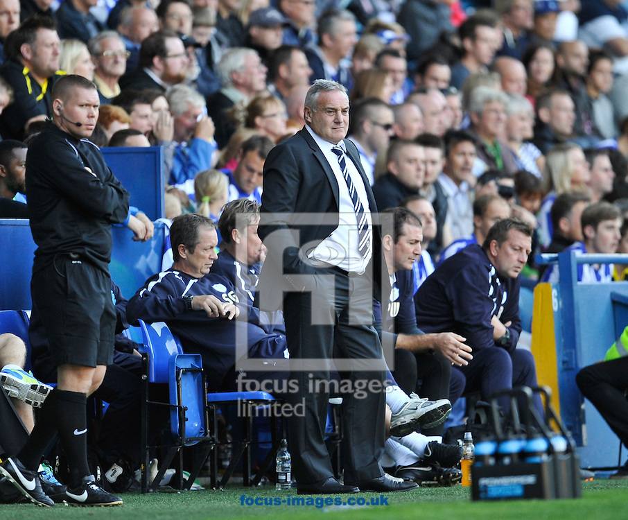 Picture by Richard Land/Focus Images Ltd +44 7713 507003<br /> 28/09/2013<br /> Dave Jones Manager of Sheffield Wednesday during the Sky Bet Championship match at Hillsborough, Sheffield.
