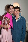 VALERIA NAPOLEONE; NICOLE EISMAN, Valeria Napoleone hosts a dinner at her apartment e to celebrate the publication of her book  Valeria Napoleone's Catalogue of Exquisite Recipes. Palace Green. Kensington. London. 28 September 2012.