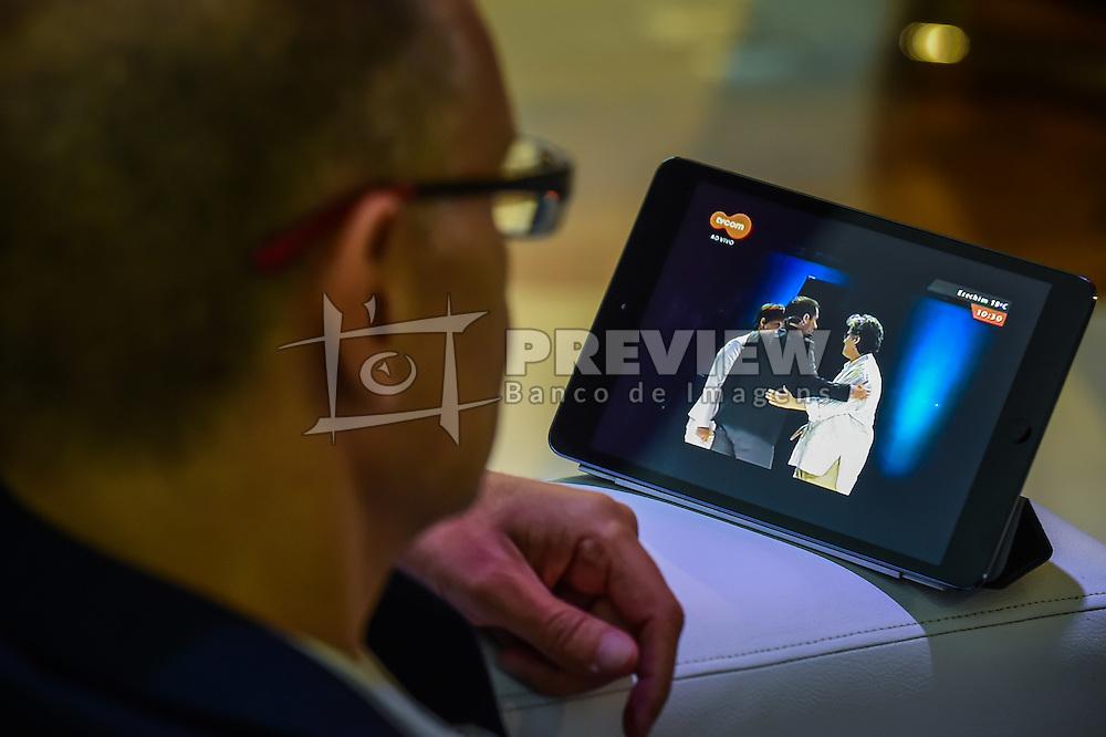 Público acompanha o VOX - The Joy of Sharing, evento que  pretende provocar reflexões sobre o futuro da comunicação a partir do compartilhamento de conteúdo e experiências. FOTO: Vinícius Costa/ Agência Preview
