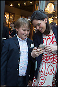 JAMES OLSEN; AMELIA MCKINON, Dinosaur Designs launch of their first European store in London. 35 Gt. Windmill St. 18 September 2014