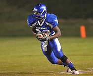 Water Valley's Kenon Kirkwood (33) vs. Charleston in Water Valley, Miss.  on Friday, September 16, 2011.