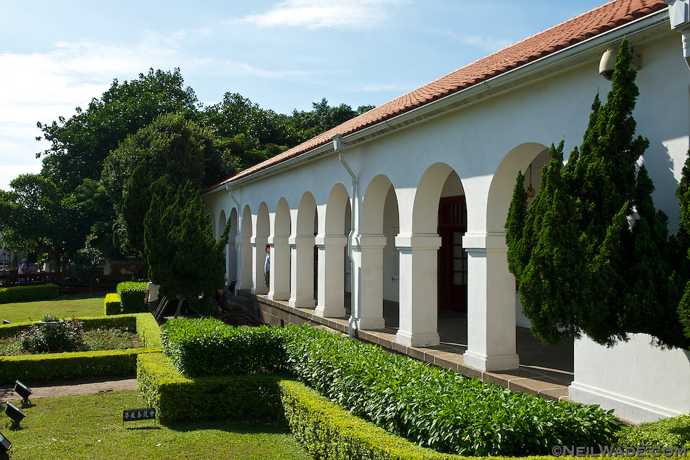 Little White House ???, Tamsui Customs Officer's Residence, Taiwan