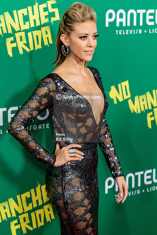 LOS ANGELES, CA - AUGUST 31 Actress Fernanda Castillo attends the red carpet premiere of the film No Manches Frida the the Regal Cinemas in downtown Los Angeles on Tuesday night 2016 August 31. Byline, credit, TV usage, web usage or linkback must read SILVEXPHOTO.COM. Failure to byline correctly will incur double the agreed fee. Tel: +1 714 504 6870.