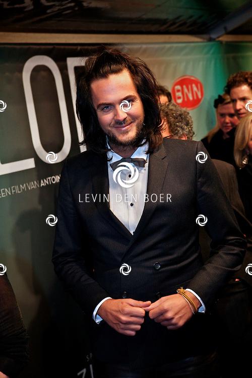 AMSTERDAM - Thijs Willekes op de premiere van de film Loft dinsdag in Amsterdam. De film is vanaf 16 december in de Nederlandse bioscopen te zien. FOTO LEVIN DEN BOER - PERSFOTO.NU