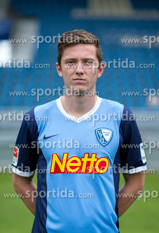 07.07.2015, Rewirpower Stadion, Bochum, GER, 2. FBL, VfL Bochum, Fototermin, im Bild Michael Gregoritsch (Bochum) // during the official Team and Portrait Photoshoot of German 2nd Bundesliga Club VfL Bochum at the Rewirpower Stadion in Bochum, Germany on 2015/07/07. EXPA Pictures &copy; 2015, PhotoCredit: EXPA/ Eibner-Pressefoto/ Hommes<br /> <br /> *****ATTENTION - OUT of GER*****