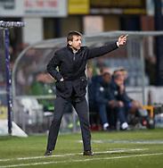 18th November 2017, Dens Park, Dundee, Scotland; Scottish Premier League football, Dundee versus Kilmarnock; Dundee manager Neil McCann