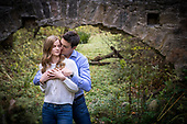 Ashley & Ian's Cambridge, Ontario engagement photo shoot