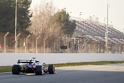 February 28, 2019 - Spain - Alexander Albon (Red Bull Toro Rosso Honda) STR14 car, seen in action during the winter testing days at the Circuit de Catalunya in Montmelo  (Credit Image: © Fernando Pidal/SOPA Images via ZUMA Wire)