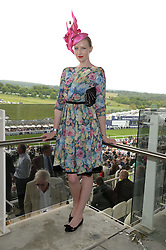 JADE PARFITT at the Investec Derby 2013 held at Epsom Racecourse, Epsom, Surrey on 1st June 2013.
