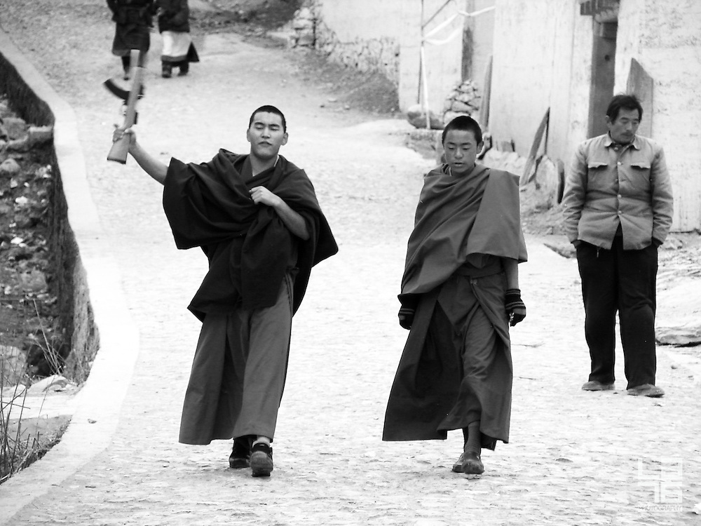 A visit to Zhongdian county or Shangri-La County, a primarily Tibetan county in northwestern Yunnan Province in southwest China and the capital of Diqing Tibetan Autonomous Prefecture.<br /> <br /> The county was formerly called Zhongdian County (Chinese: Zhongdi&agrave;n Xi&agrave;n) but was renamed in 2001 after the fictional land of Shangri-La in the 1933 James Hilton novel Lost Horizon, in an effort to promote tourism in the area. The local Tibetan population refers to it by the name Gyalthang. &quot;Shangri-La&quot; or &quot;Zhongdian&quot; may also refer to Jiantang Town (Ji&agrave;nt&aacute;ng Zh&egrave;n), the capital of the county. (Source: Wikipedia)<br /> <br /> We visited Zhongdian town in December at the time of festivities at the Songzanlin Monastery.