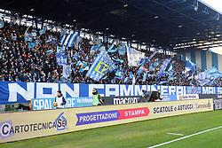 """Foto Filippo Rubin<br /> 01/12/2018 Ferrara (Italia)<br /> Sport Calcio<br /> Spal - Empoli - Campionato di calcio Serie A 2018/2019 - Stadio """"Paolo Mazza""""<br /> Nella foto: I TIFOSI DELLA SPAL<br /> <br /> Photo Filippo Rubin<br /> December 01, 2018 Ferrara (Italy)<br /> Sport Soccer<br /> Spal vs Empoli - Italian Football Championship League A 2018/2019 - """"Paolo Mazza"""" Stadium <br /> In the pic: SPAL SUPPORTERS"""