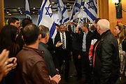 Leader of the Israeli 'Yisrael Beytenu' political party and Israeli Minister of Foreign Affairs Avigdor Lieberman attends a conference of Yisrael Beytenu party activists in Ariel, on December 30, 2014. Photo by Gili Yaari