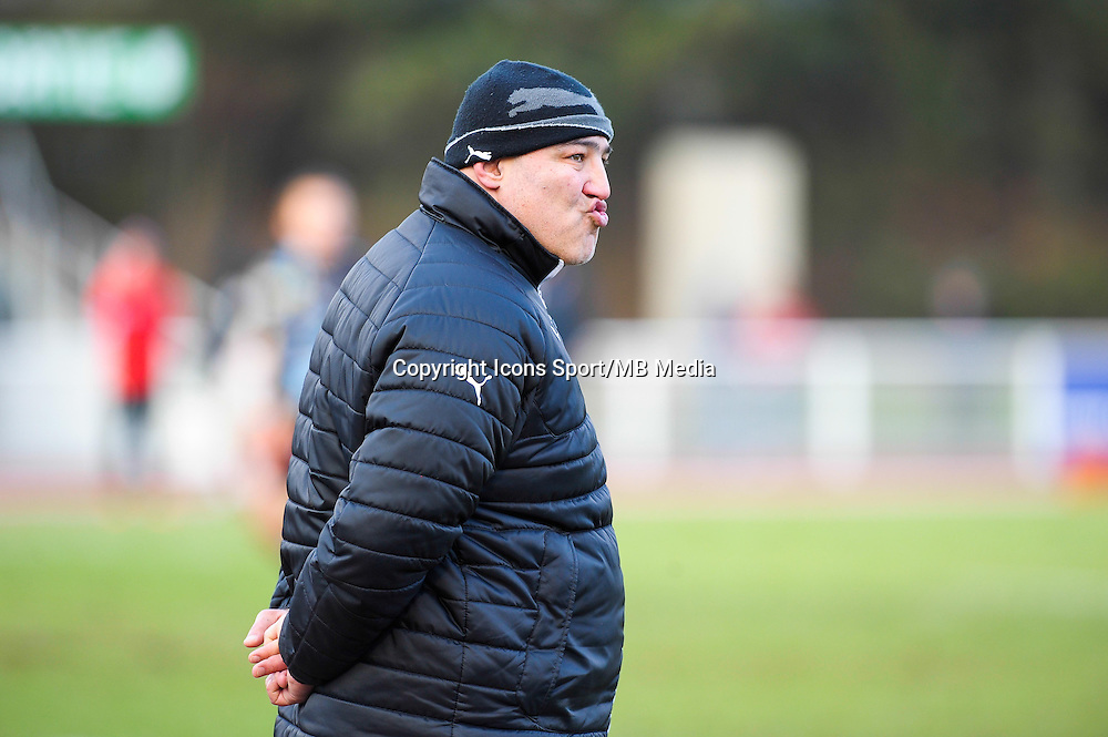 Victor Didebulidze - 25.01.2015 - Massy / Biarritz - 18eme journee de Pro D2<br /> Photo : Andre Ferreira / Icon Sport