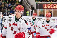 2020-03-10   Umeå, Sverige:Modo (15) Adam Tambellini  under matchen i HA Finalserien mellan Björklöven och MoDo i A3 Arena ( Foto av: Michael Lundström   Swe Press Photo )<br /> <br /> Nyckelord: Umeå, Hockey, HA Finalserien, A3 Arena, Björklöven, MoDo, mlbm200310