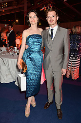 SOPHIE ELLIS-BEXTOR and RICHARD JONES at the Glamour Women of The Year Awards in Association with Next held in Berkeley Square Gardens, Berkeley Square, London on 3rd June 2014.